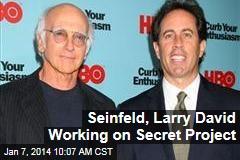 Seinfeld, Larry David Working on Secret Project