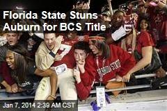 Florida State Stuns Auburn for BCS Title