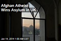Afghan Atheist Wins Asylum in UK
