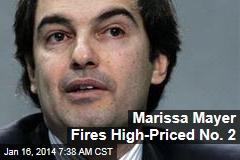 Marissa Mayer Fires High-Priced No. 2