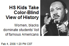 HS Kids Take Color-Blind View of History