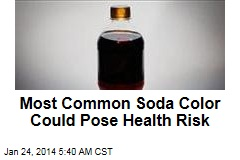 Most Common Soda Color Could Pose Health Risk