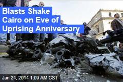 Huge Blast Shakes Cairo on Eve of Anniversary