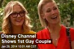 Disney Channel Shows 1st Gay Couple