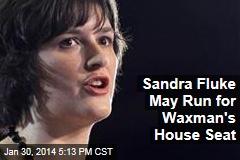Sandra Fluke May Run for Waxman's House Seat