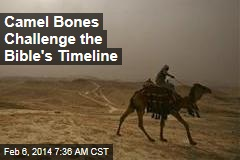 Camel Bones Challenge the Bible's Timeline