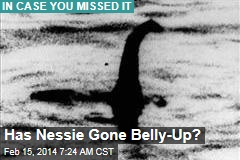 Has Nessie Gone Belly-Up?