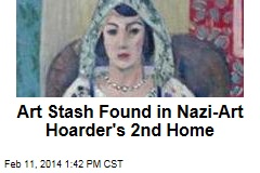 Art Stash Found in Nazi-Art Hoarder's 2nd Home