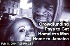 Crowdfunding Pays to Get Homeless Man Home to Jamaica