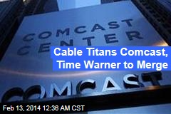 Nation's 2 Biggest Cable Operators to Merge