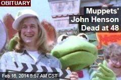 Muppets' John Henson Dead at 48