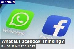 What Is Facebook Thinking?