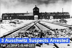 3 Auschwitz Suspects Arrested