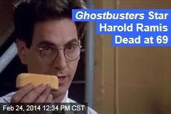Ghostbusters Star Harold Ramis Dead at 69