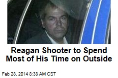Reagan Shooter to Spend Most of His Time on Outside