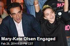 Mary-Kate Olsen Engaged