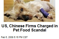 US, Chinese Firms Charged in Pet Food Scandal