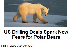 US Drilling Deals Spark New Fears for Polar Bears