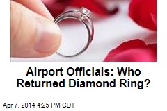 Mystery Samaritan Returns 4-Carat Diamond Ring