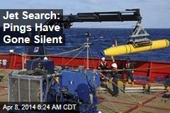Jet Search: Pings Have Gone Silent