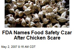 FDA Names Food Safety Czar After Chicken Scare