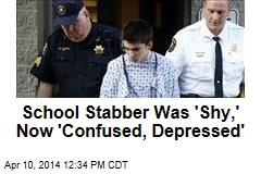 School Stabber Was 'Shy,' Now 'Confused, Depressed'