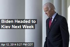 Biden Headed to Kiev Next Week