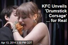 For Prom Night, KFC Debuts ... the Chicken Corsage