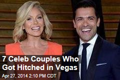 7 Celeb Couples Who Got Hitched in Vegas