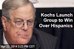Kochs Launch Group to Win Over Hispanics
