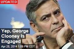 Off the Market: George Clooney?