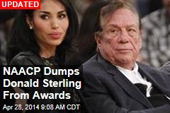 NAACP Dumps Donald Sterling From Awards