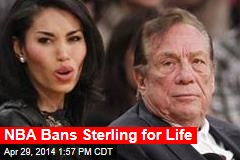 NBA Bans Sterling for Life