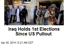 Fear, Violence Grips Iraq in 1st Election Since US Pullout