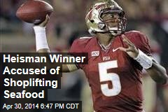 Heisman Winner Accused of Shoplifting Seafood