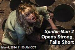 Spider-Man 2 Opens Strong, Falls Short