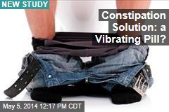 Constipation Solution: a Vibrating Pill?