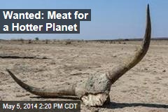 Wanted: Meat For a Hotter Planet