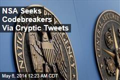 NSA Seeks Codebreakers Via Cryptic Tweets
