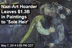 Nazi-Art Hoarder Gives Collection to Museum