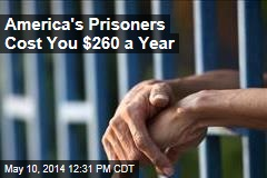 America's Prisoners Cost You $260 a Year