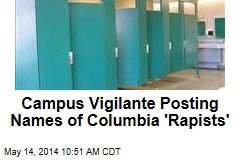 'Rapists on Campus' Graffiti Showing Up at Columbia