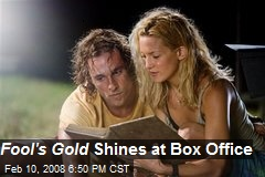 Fool's Gold Shines at Box Office