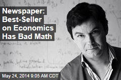 Newspaper: Best-Seller on Economics Has Bad Math