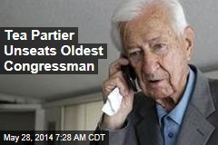 Tea Partier Unseats Oldest Congressman