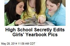 High School Secretly Edits Girls' Yearbook Pics