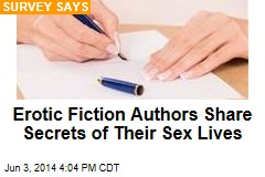Authors of Erotic Fiction Practice What They Preach