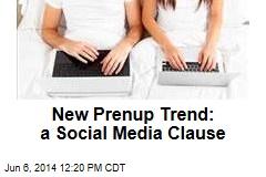 New Prenup Trend: a Social Media Clause