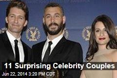 11 Surprising Celebrity Couples