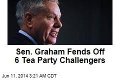 Sen. Graham Fends Off 6 Tea Party Challengers